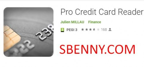 Lecteur de cartes de crédit Pro NFC