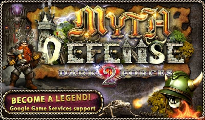 Myth Defense 2: Dark Forces Platinum