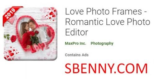 Marcos de fotos de amor - Romantic Love Photo Editor + MOD