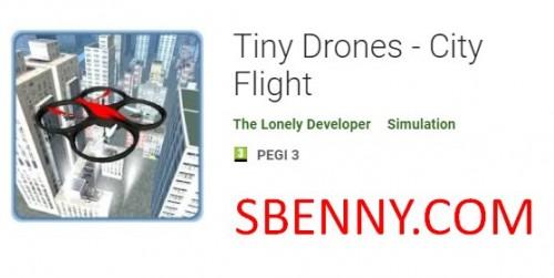 هواپیماهای بدون سرنشین کوچک - پرواز در شهر