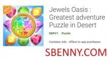 Jewels Oasis: Das größte Abenteuer-Puzzle in Desert + MOD