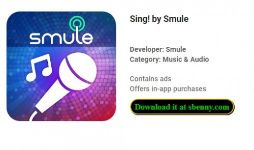 Sing! by Smule + MOD