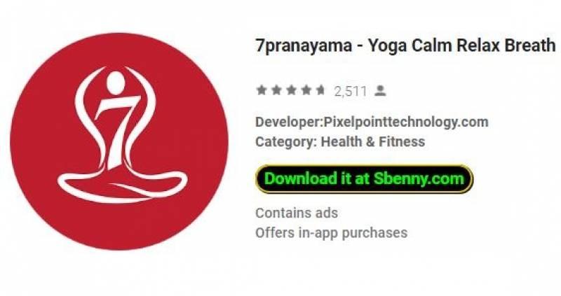 7pranayama - Йога успокаивает дыхание медитации + MOD