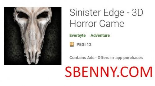 Sinister Edge - 3D Horror Game + MOD