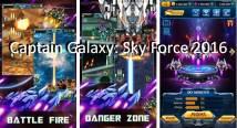 Capitaine Galaxie: Sky Force War + MOD
