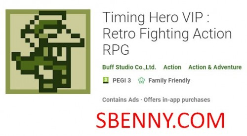 Timing Hero VIP: Retro-Fighting Action RPG