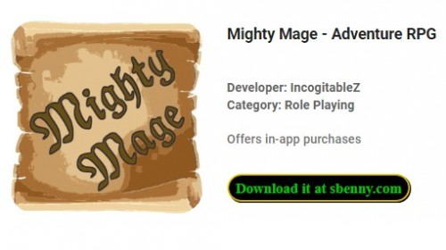 Mighty Mage - Aventura RPG + MODO