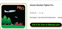 Atomic Bomber Fighter Pro + MOD
