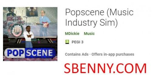 Popscene (Sim de l'industrie de la musique) + MOD
