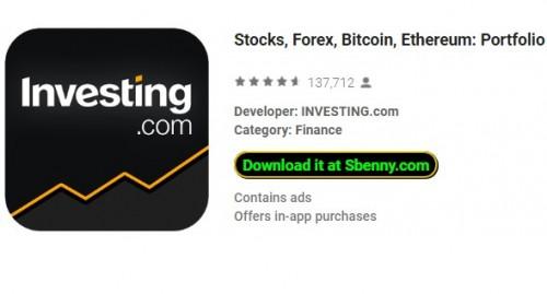 Actions, Forex, Bitcoin, Ethereum: Portfolio & amp; Nouvelles + MOD