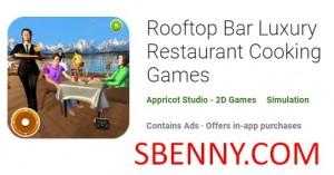 Bar auf dem Dach Luxusrestaurant Kochspiele + MOD