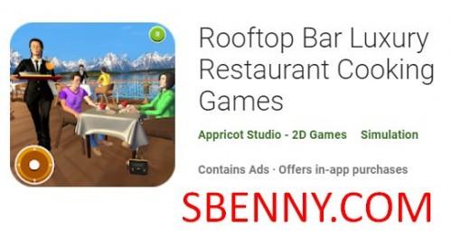 بازی آشپزی رستوران مجلل Rooftop Bar + MOD
