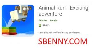 Animal Run - Une aventure passionnante + MOD