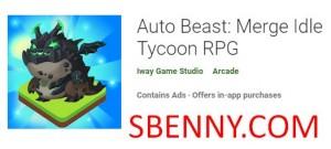 Bestia automática: fusionar Idle Tycoon RPG + MOD