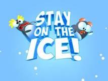 Bleiben Sie auf dem Eis