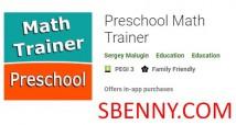 Treinador de matemática pré-escolar