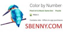 Цвет по номеру - Poly Art + MOD
