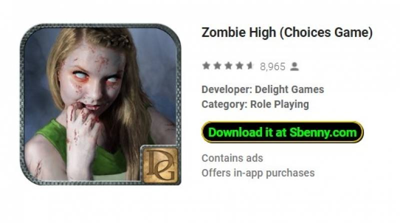 Zombie High (Auswahl Spiel) + MOD