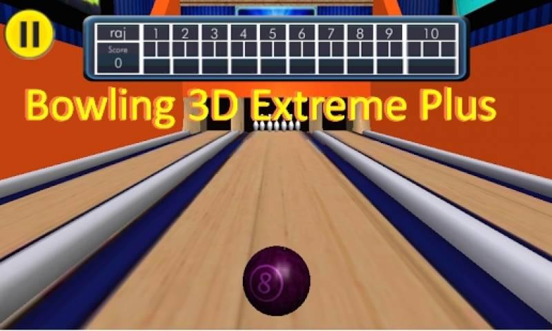 Bowling 3D extrema Além disso,