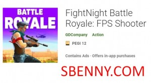 FightNight Battle Royale: FPS Shooter + MOD