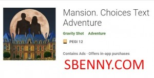 Mansion. Choices Text Adventure + MOD