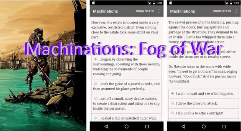 Maquinaciones: Niebla de guerra + MOD