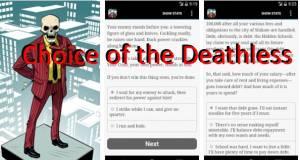 Escolha do Deathless + MOD