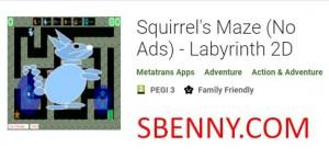 Laberinto de ardilla (sin anuncios) - Laberinto 2D