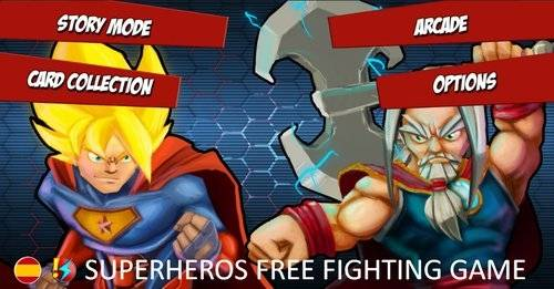 Superheros Free Fighting Games + MOD