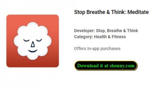 Stop Breathe & amp; Подумайте: Meditate + MOD
