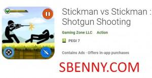 Stickman vs Stickman: Schrotflintenschießen + MOD