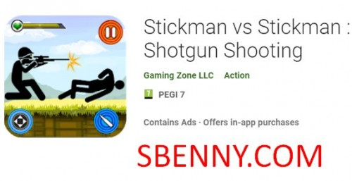 Stickman vs Stickman: Shotgun Shooting + MOD