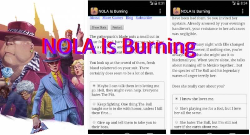 Nola Is Burning + MOD