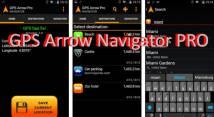 GPS Pfeil Navigator PRO + MOD
