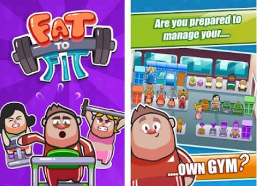 Fett zu Fit - Fitness und Gewichtsverlust Fitness-Spiel + MOD
