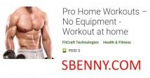 Pro Home Workouts - Pas d'équipement - Workout at home + MOD