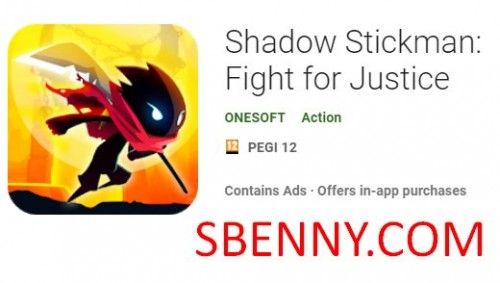 Shadow Stickman: Fight for Justice + MOD