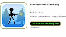 Stickman Gun - Metal Solider Slug + MOD