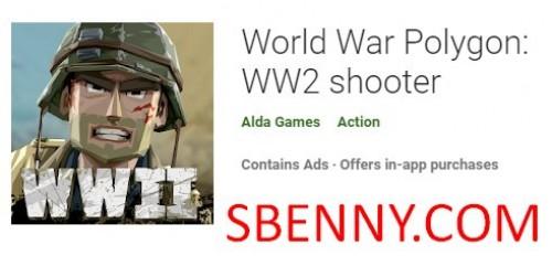 چند ضلعی جنگ جهانی: تیرانداز WW2 + MOD