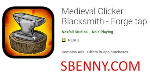 Medieval Clicker Blacksmith - Forge tap + MOD