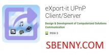 eXport-it UPnP Client / Server