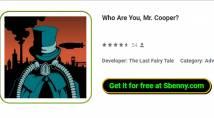 Quem é você, Sr. Cooper?