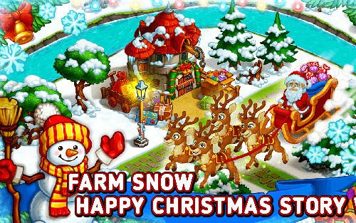 Farm Snow: Happy Christmas Story con Toys & amp; Santa + MOD