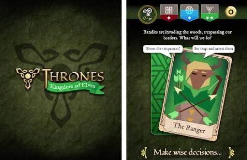 Thrones: Kingdom of Elves - Medieval Game + MOD