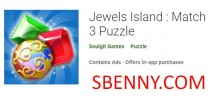 Jewels Island: Match 3 Puzzle + MOD