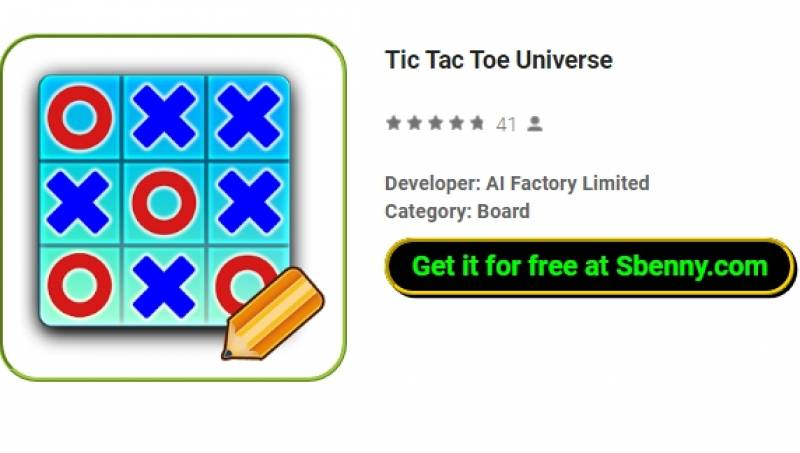 Univers Tic Tac Toe