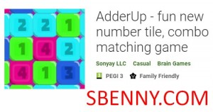 AdderUp - забавная игра с новыми номерами, комбинационная игра