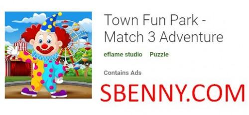 Town Fun Park - Match 3 Adventure + MOD