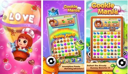 Cookie Mania - Cooking Match + MOD