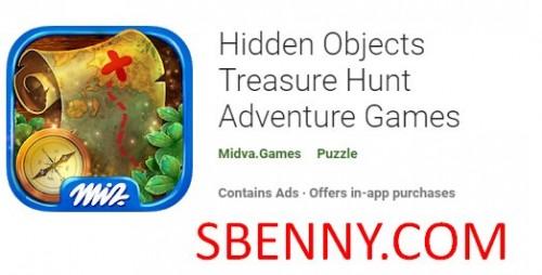 Objetos ocultos Treasure Hunt Adventure Games + MOD